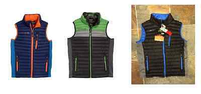 VARIETY NEW BOYS  FREE COUNTRY POWER DOWN MICROTECH STRETCH SIDE PANEL VEST