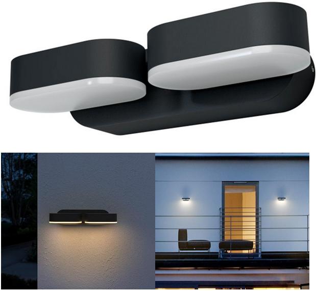 Osram LED Außenwandleuchte flexibel Endura Style Mini LEDVANCE Wandleuchte Außen
