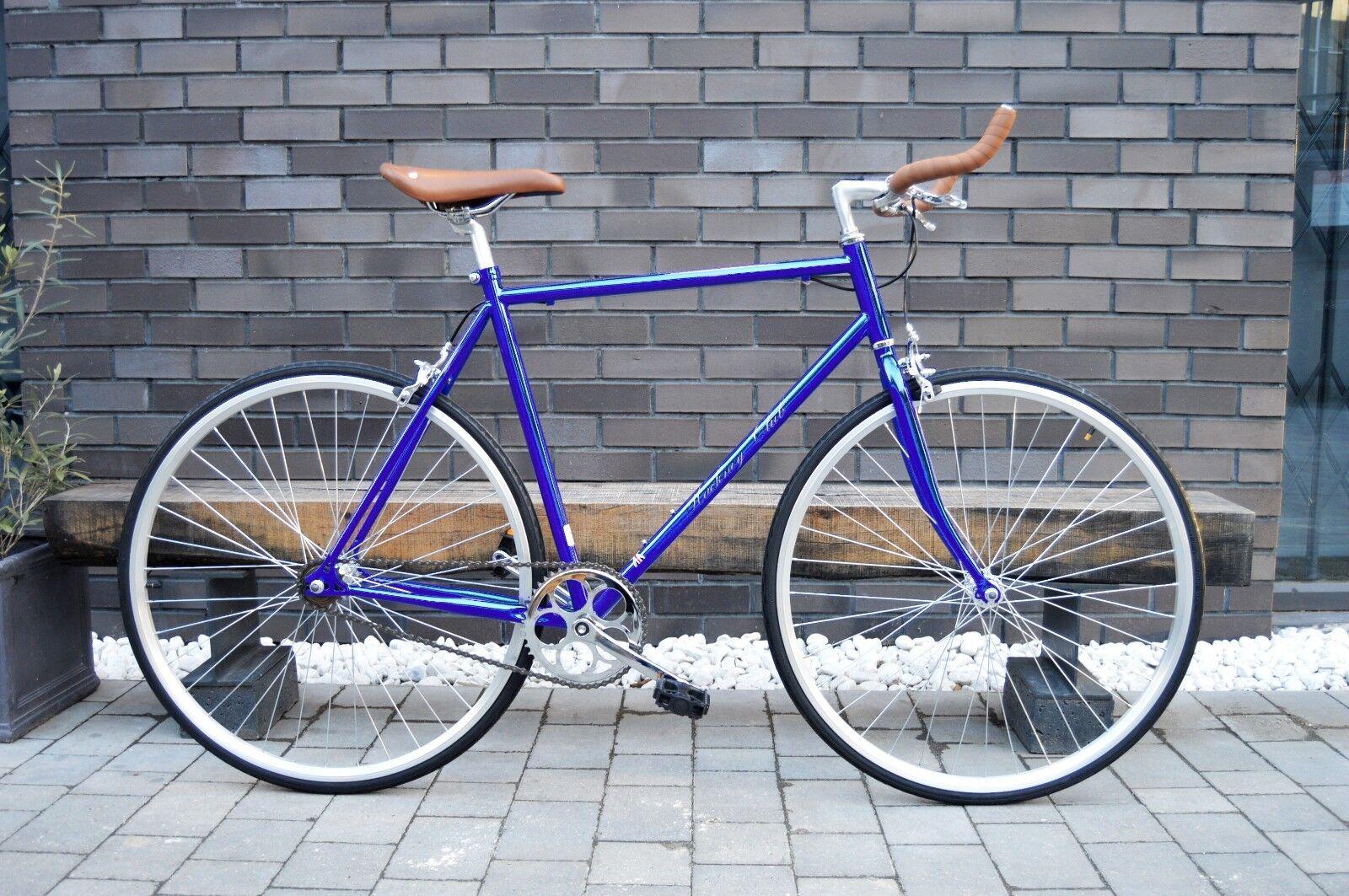 Hackney Club Vintage Single Speed Freewheels Bike Fixed
