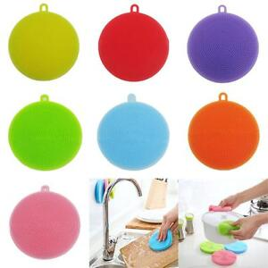 Multipurpose-Antibacterial-Silicone-Smart-Sponge-Cleaning-Dish-Kitchen-Tool-FW