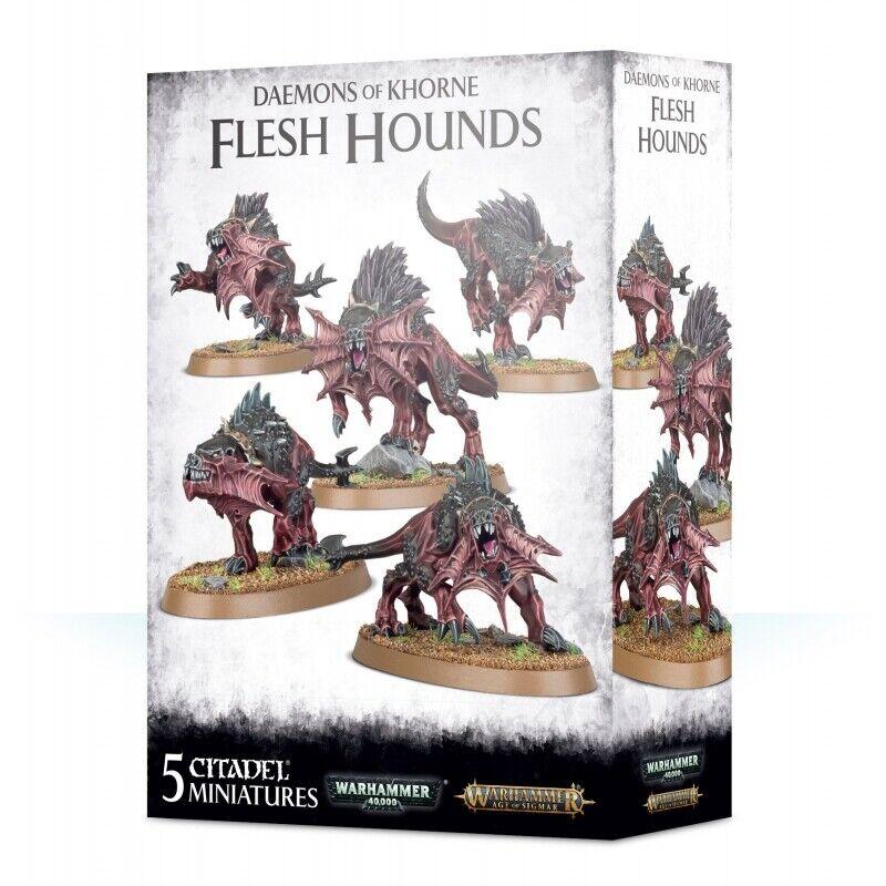 Flesh Flesh Hounds - Daemons of Khorne - 97-63 - Warhammer AoS  orden ahora con gran descuento y entrega gratuita