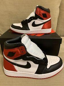 Nike Air Jordan 1 Retro High Black Toe