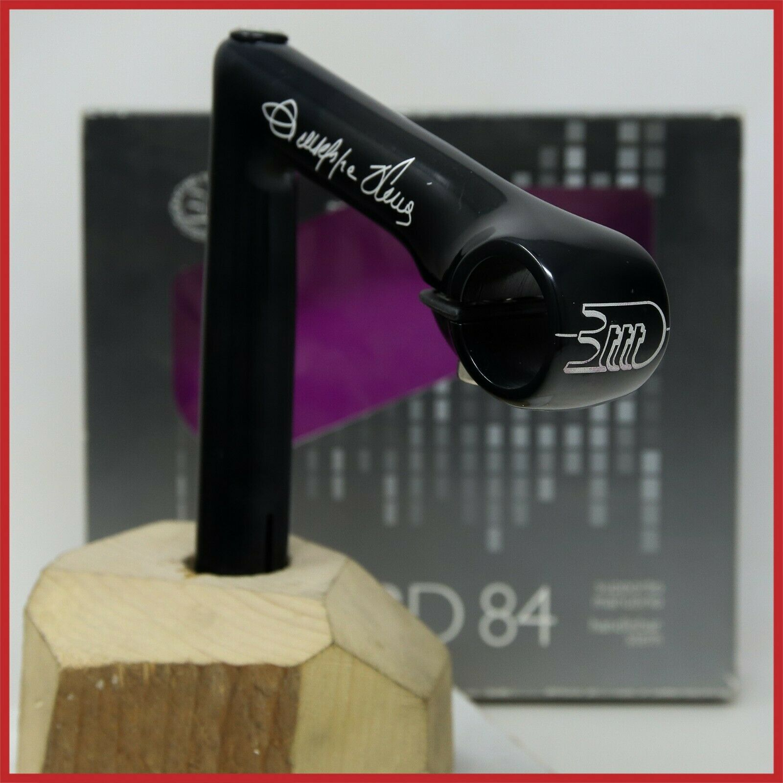 NOS 3TTT RECORD 84 OLMO QUILL STEM 115mm 1  22.2mm LEADER INCH VINTAGE SINTEX 80