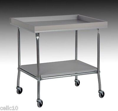 High Quality Steel Service Cart with Hardboard Top Made in the USA  EZ45 EZ-45