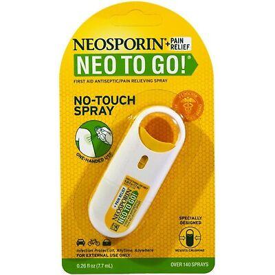 Neosporin + Pain Relief Neo To Go! Spray 0.26 oz