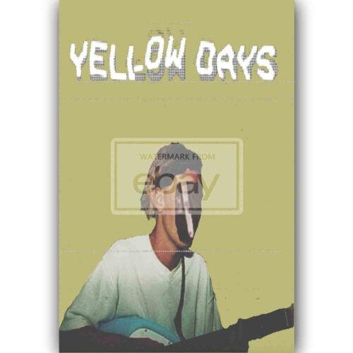 Yellow Days Silk Poster Custom New Wall Decor