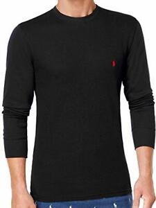 Details about Polo Ralph Lauren Men's Long-sleeved T-shirt/Sleepwear/Thermal XXL TTG Black