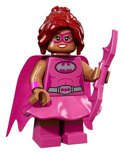 Pink Power Batgirl NEW LEGO BATMAN MOVIE MINIFIGURES SERIES 71017