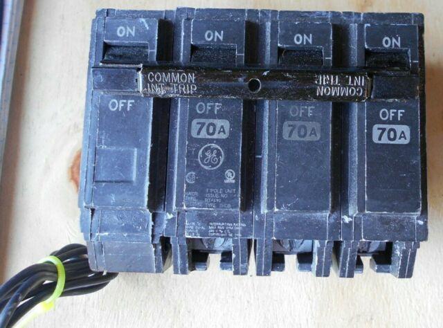 GE GENERAL ELECTRIC THQB32070 NEW CIRCUIT BREAKER 3P 70A 240V Box Of 3