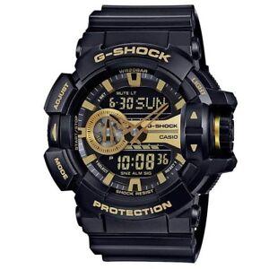 Casio-G-Shock-GA-400GB-1A9-Black-Gold-Digital-Analog-Men-039-s-Sports-Watch