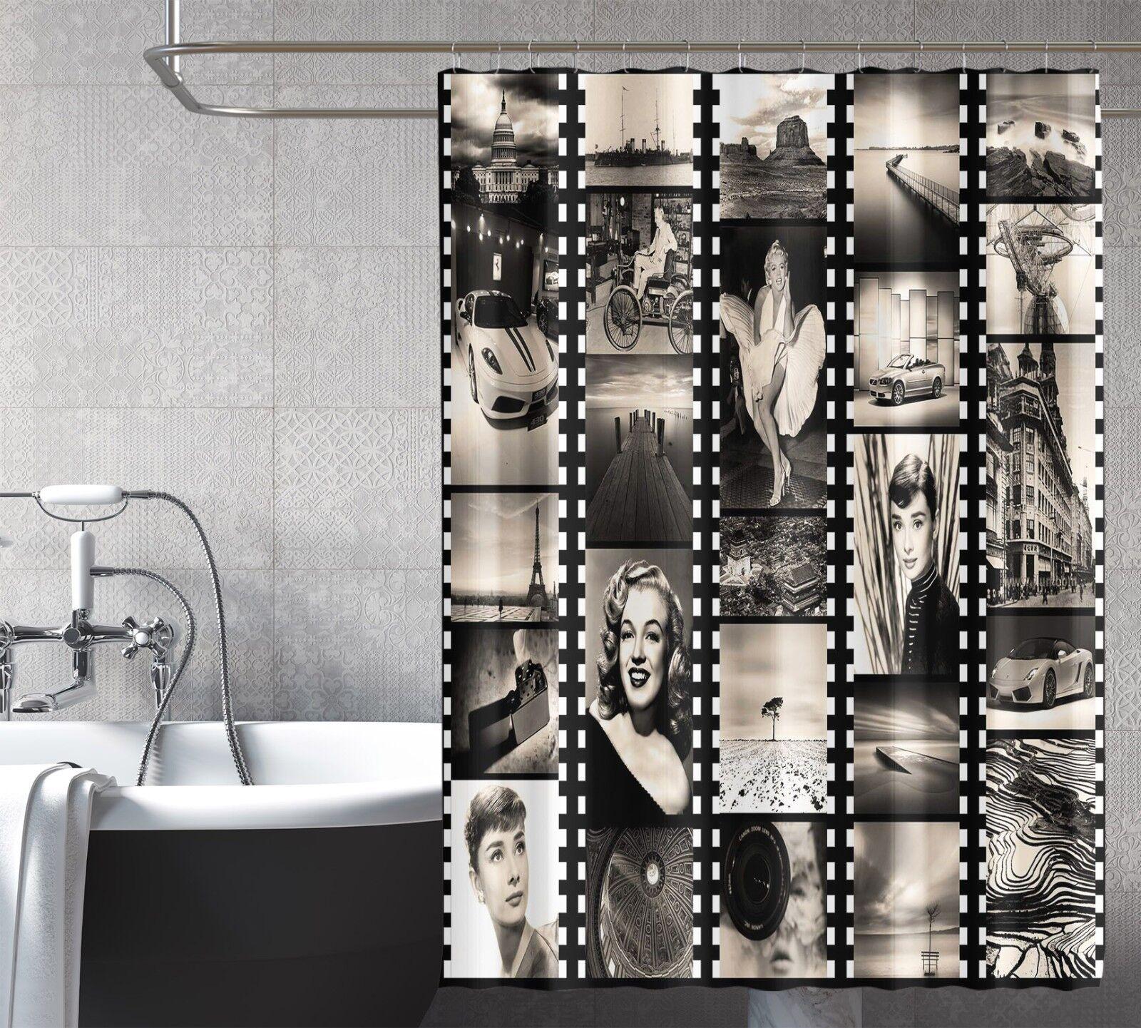 3D Movie Poster 16 Shower Curtain Waterproof Fiber Bathroom Home Windows Toilet 0edca8