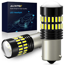 AUXITO Super Bright LED 1156 P21W 7506 Reverse Backup Light White Bulb 2PC 6000K