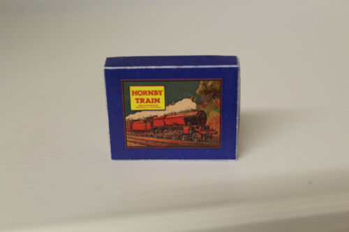 Handcrafted  Box DOLLS HOUSE Hornby Train Set