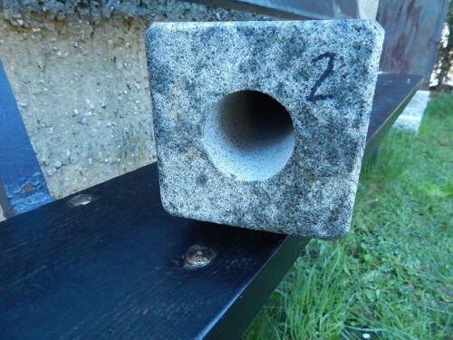 Gartensteckdose Granit Außensteckdose Energiesäule für Weihnachtsbeleuchtung zB.