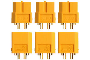 Goldkontakt-Stecker-amp-Buchsen-XT30-XT60-XT60U-XT90-XT90S