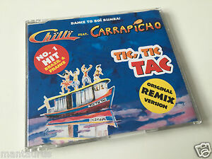 Chilli feat. Carrapicho - Tic Tic Tac - Maxi CD Single - <span itemprop='availableAtOrFrom'>Berlin, Deutschland</span> - Chilli feat. Carrapicho - Tic Tic Tac - Maxi CD Single - Berlin, Deutschland