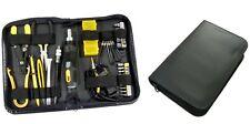 43 Piece PC Computer Tech Repair Tool Case Kit w/Wire Stripper, Allen Wrench Set