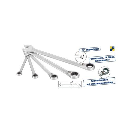 HAZET 606//5 Ratcheting Combination spanner set 5pcs.