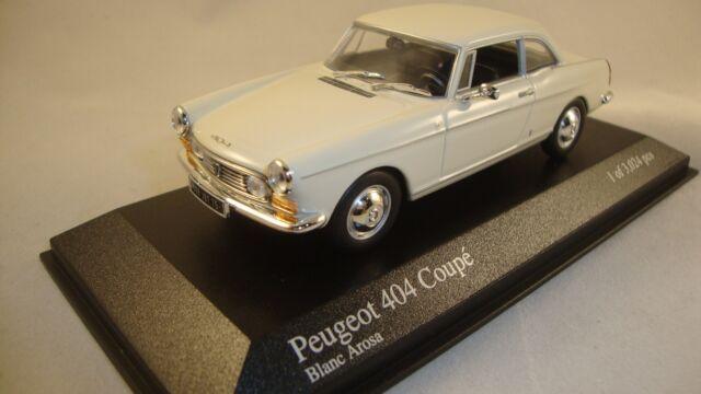 Minichamps 400112620 Peugeot 404 Coupé -1962-  1:43