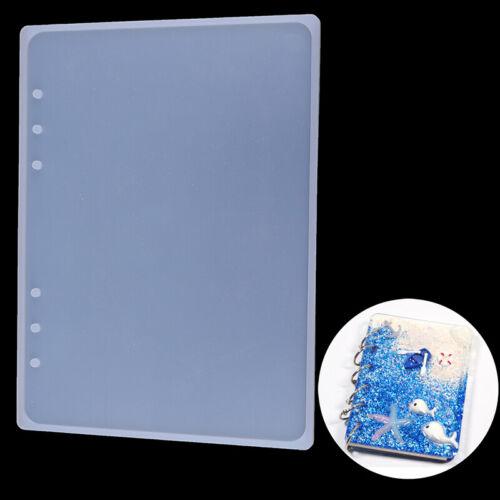 Silikonform DIY Handwerk Notook Shaped A5A6A7 Spiegel Schmuck MakingBookResinYE