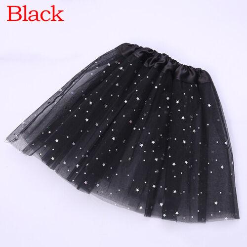 Kid Girl Cute Tulle Tutu Skirt Mesh Skirt Dance Ballet Princess Dress Costume