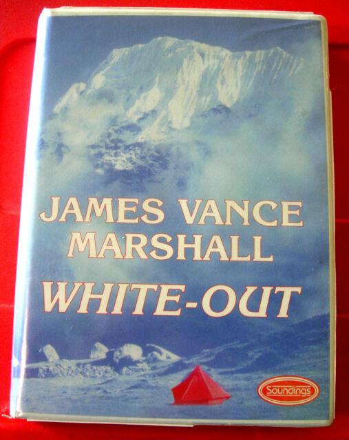 James Vance Marshall White-Out 8-Tape UNAB.Audio Christopher Kay Action Thriller