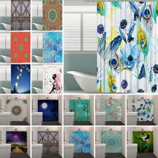 Bathroom Duschvorhang Textil Badewannenvorhang Wasserdicht Mit 12 Haken 71 Zoll