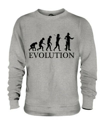 MAGICIAN EVOLUTION OF MAN UNISEX SWEATER MENS WOMENS LADIES GIFT ILLUSIONIST