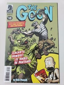 THE-GOON-18-2007-DARK-HORSE-COMICS-AUTOGRAPHED-by-ERIC-POWELL-with-COA-NM