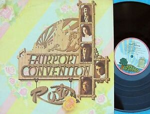 Fairport-Convention-Original-OZ-LP-Rosie-EX-73-Pink-Rim-island-Folk-Sandy-Denny