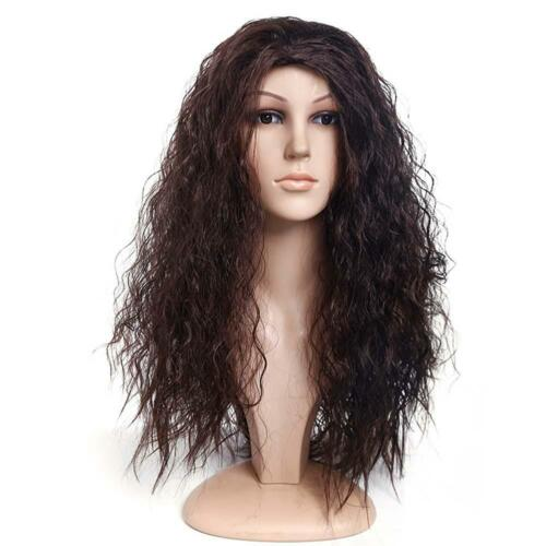 Anime Movie Polynesia princess Moana Black Brown Hair Cosplay wig SH