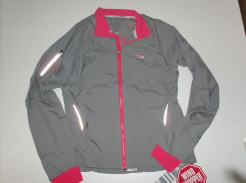 Adidas Adistar Gore Windstopper Jacket Running 40 E82026 Functional FIBRE GREY
