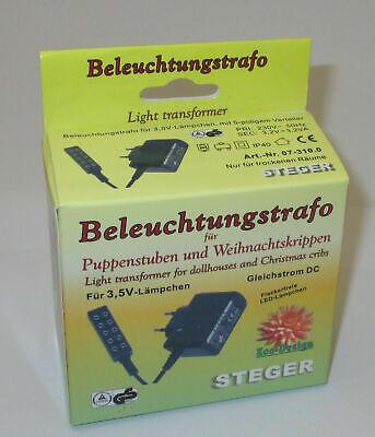 Kahlert-feu de camp avec éclairage hauteur 130mm 3,5 volts Nouveau//OVP