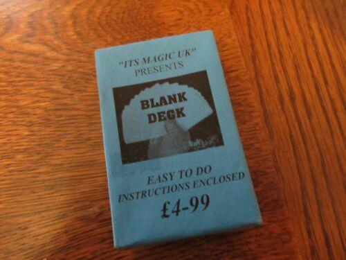 Magic Blank Cards.