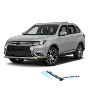 Left-Chrome-Strip-On-Bumper-Side-For-MITSUBISHI-OUTLANDER-2016-2020-OEM-6407A143