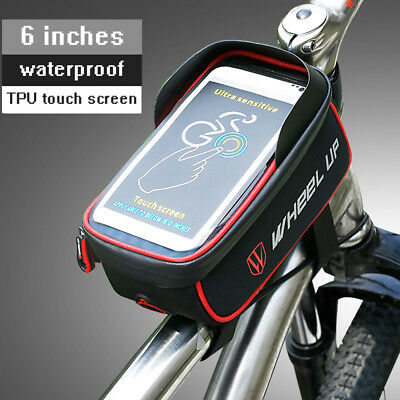 Bicycle Bag Waterproof Front Beam Riding Mountain Bike Equipment Accessories Ebay