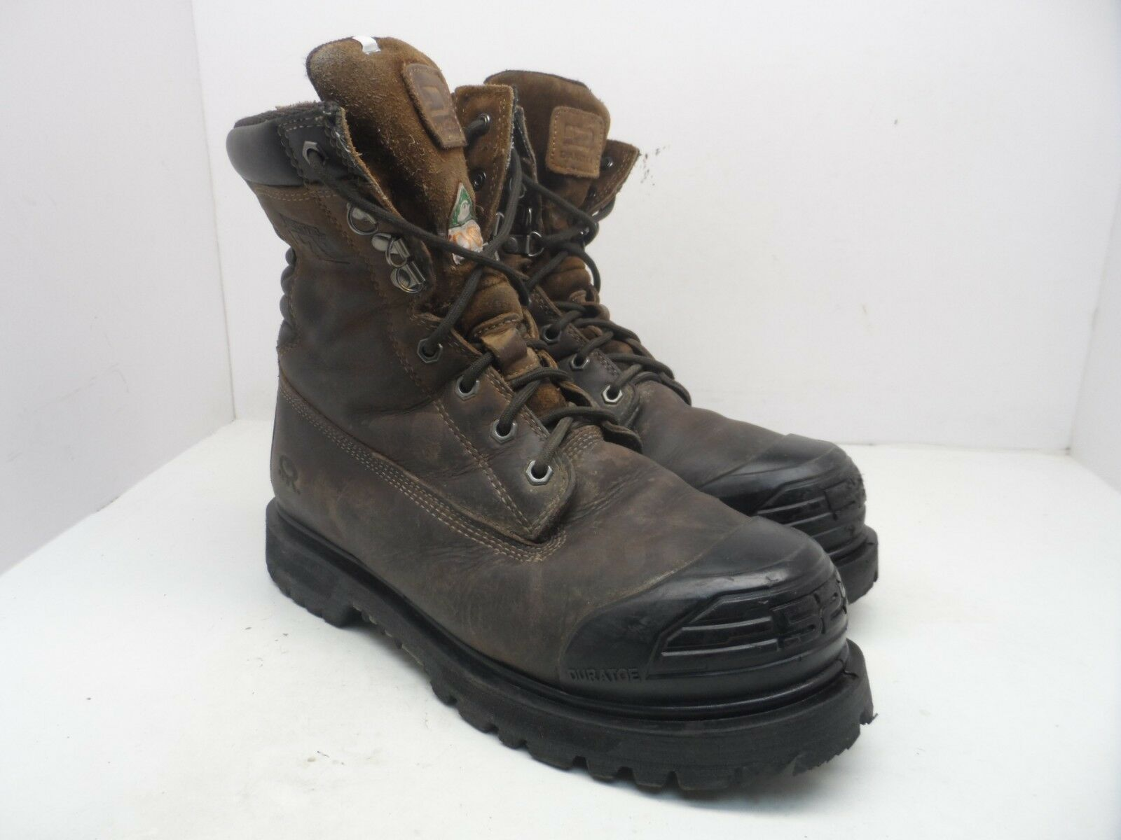 Dakota Men's 529 8  Steel Toe HD3 Injected Welt Safety Work Boots Brown 10M