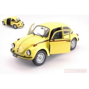 Volkswagen Beetle 1303 Sport 1974 Yellow SOLIDO 1:18 SL1800511 Model