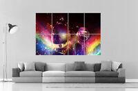 Daft Punk Rainbow Dj Music Wall Art Poster Grand Format A0 Large Print