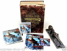 Uncharted 2: Among Thieves Fortune Hunter Edition (Sony Playstation 3, 2009)
