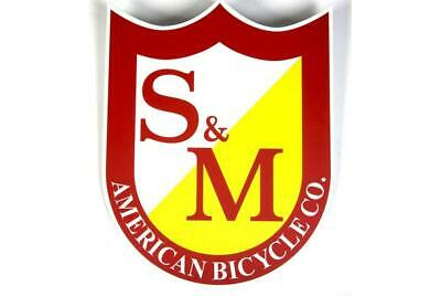 S/&M Big Shield BMX sticker mid school fit bmx revenge profile fbm