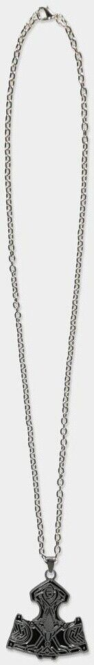 Assassin's Creed Valhalla - Hammer Necklace Brown