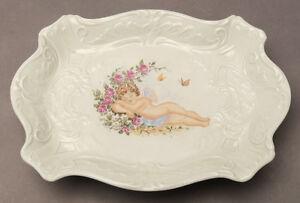 Unterweissbach Tazón de Porcelana Con Patas Durmiendo Ángel Decoración U 9953/1