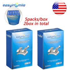 Orthodontic 10pack Metal Dental Mini Brackets Braces Mbtroth 022 3345hook 2box