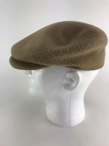 a54f6d7d4889f2 Vintage STETSON 70'S Men's Tan Newsboy Cabbie Cap Size Medium | eBay