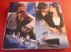 VHS-French-Movie-Box-Set-Titanic-Leonardo-DiCaprio-amp-Kate-Winslet