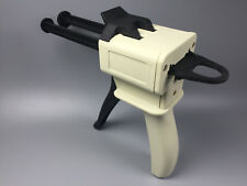 Dental Impression Material Mixing Tips Dual Dispensing Tray Caulking Gun 21