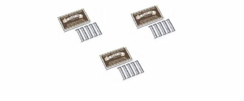 Colonel Ichabod Conk Trac II Razor Blades 10 ct. Pack of 3