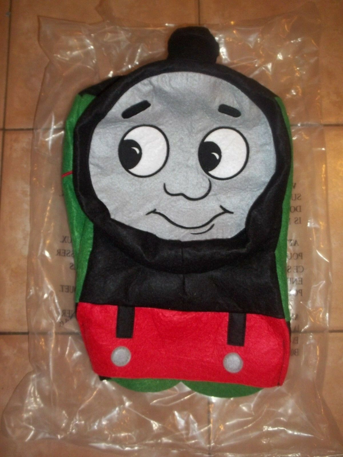 krukmakarey Barn grön Percy Thomas Motor 3D Costume Small S  4 -6 Years