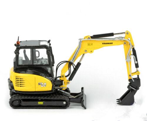 Diecast Toy Model ROS 1:50 Scale Yanmar SV 60 Minibagger Neu Excavator Vehicles